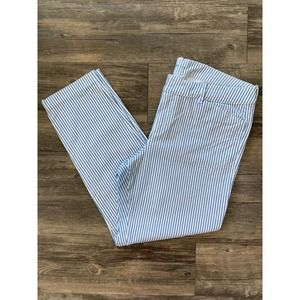 OLD NAVY PIXIE STRIPED PANTS SIZE 12